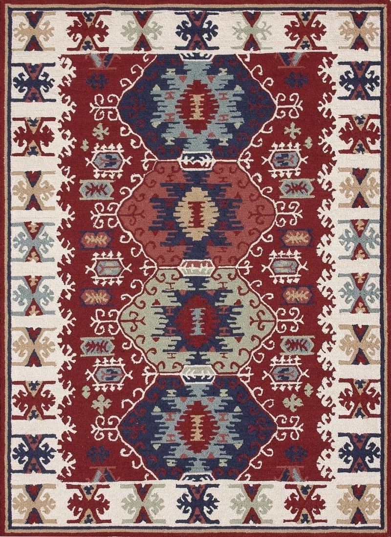 Loloi Taos To01 Red Rug