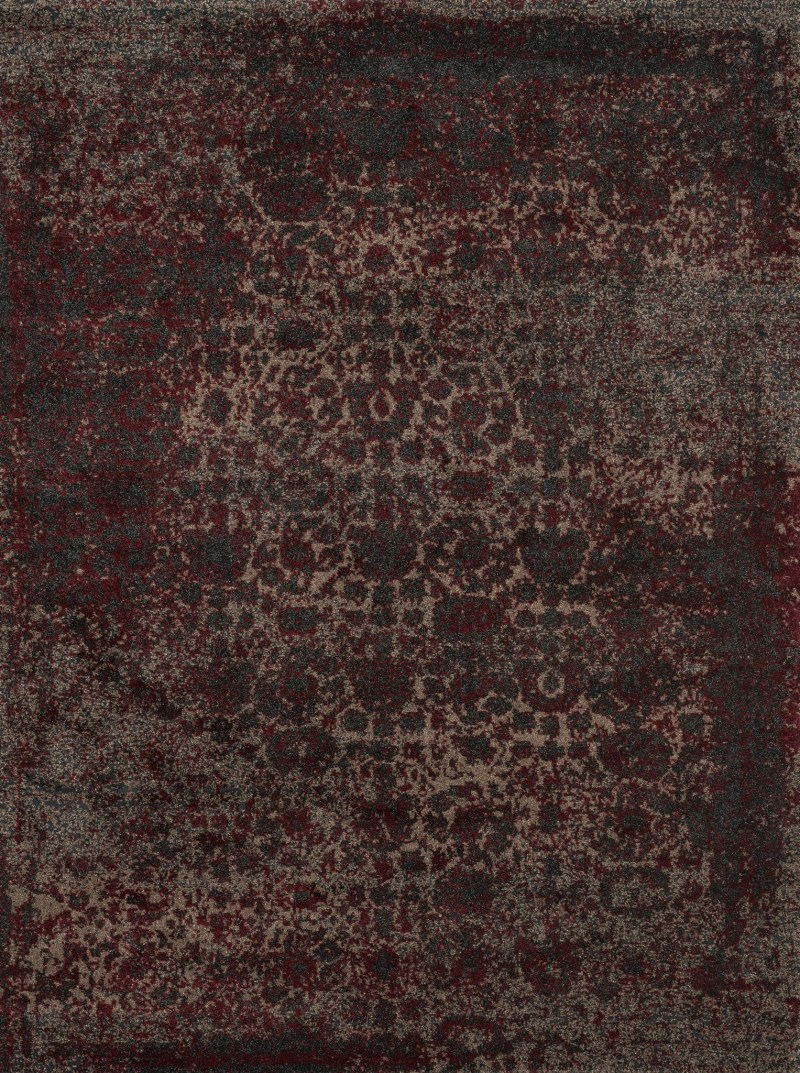 Loloi Viera Vr-05 Charcoal / Red Rug