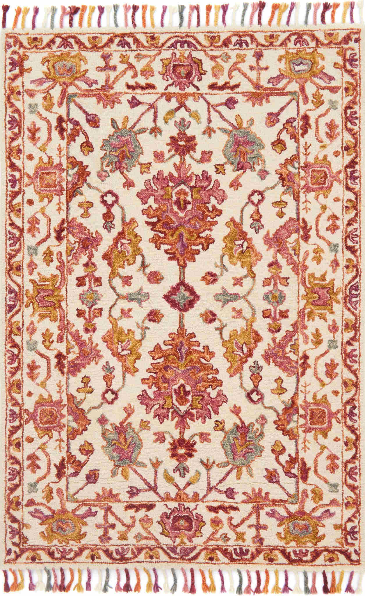 Loloi Zharah Berry Transitional Rug