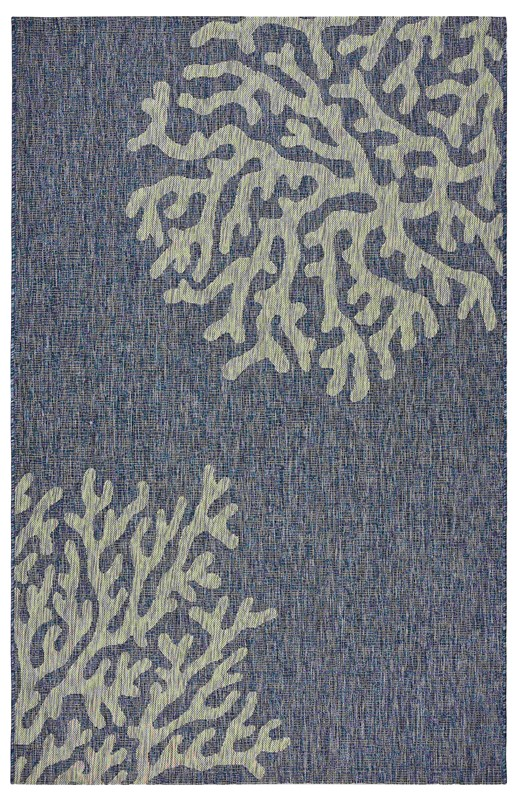 Lrresources Captiva Tropical Navy Rug Lr81017-nvg5070