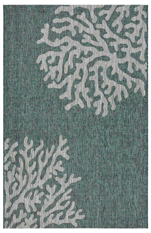 Lrresources Captiva Tropical Blue Rug Lr81022-bgr5070