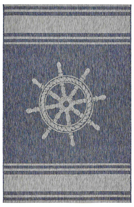 Lrresources Captiva Tropical Navy Rug Lr81025-nvg5070