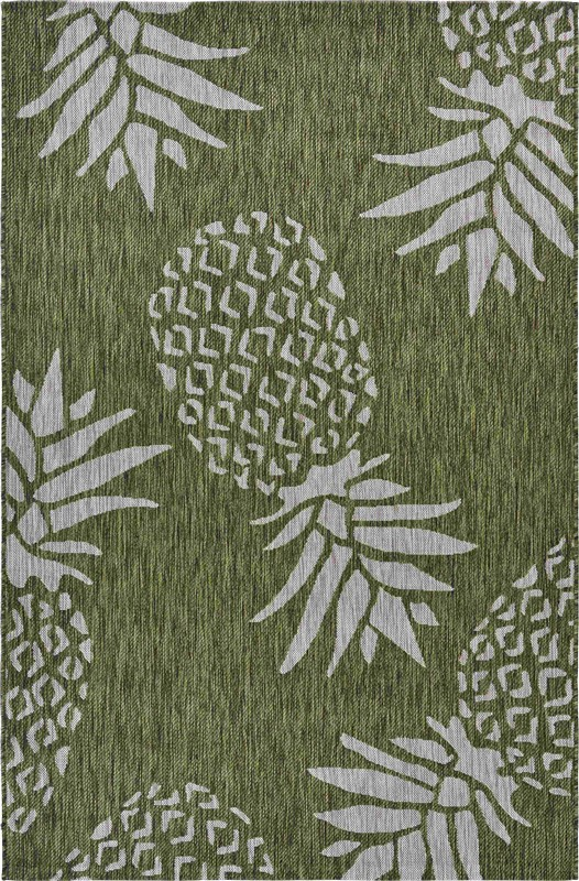 Lrresources Catalina Tropical Green Rug Lr81500-grb7999