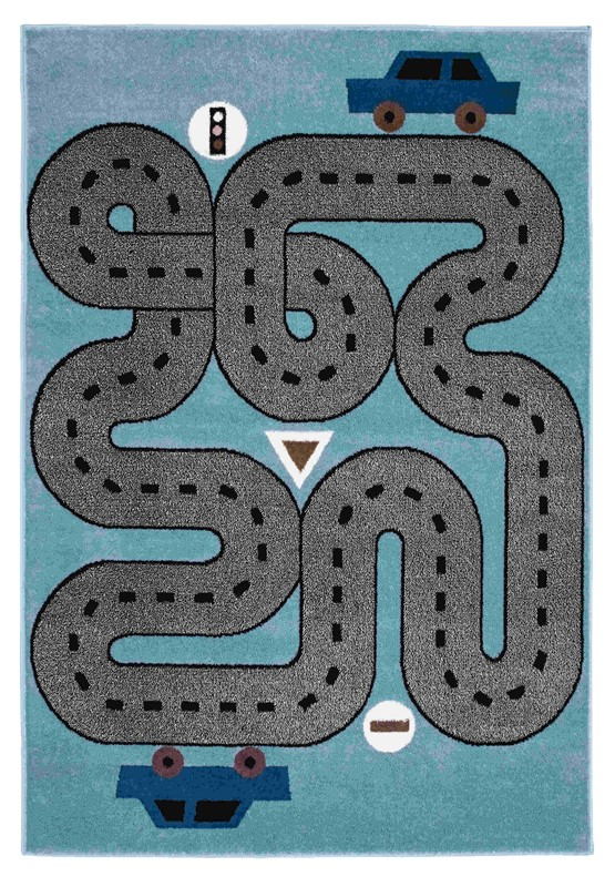 Lrresources Whimsical Kids Blue Rug Lr81266-slb5070