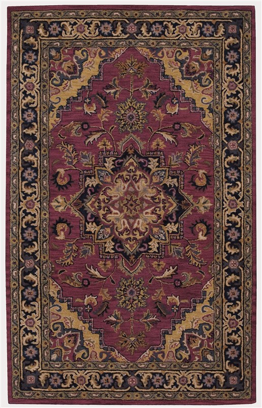 Nourison India House 449 Rust Rug