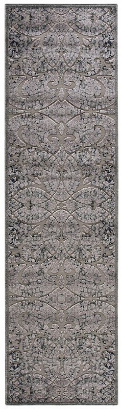 Nourison Graphic Illusions 131 Grey Rug