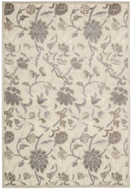 Nourison Graphic Illusions 130 Ivory Rug