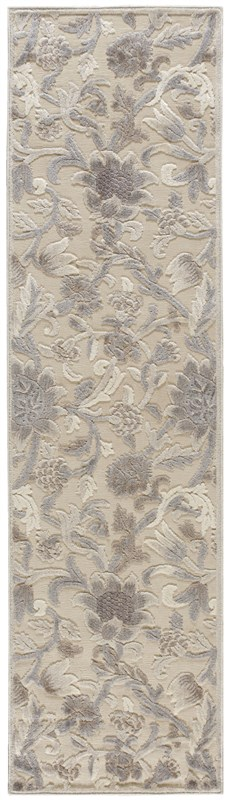 Nourison Graphic Illusions 131 Ivory Rug