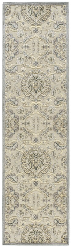 Nourison Graphic Illusions 132 Ivory Rug