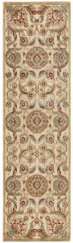 Nourison Graphic Illusions 132 Beige Rug