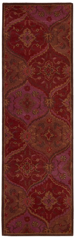 Nourison India House 161 Red Rug