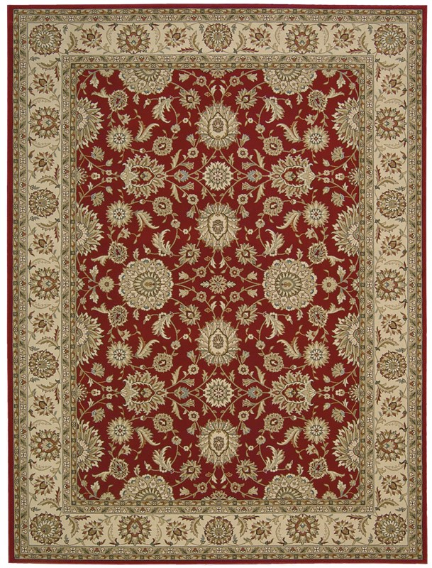 Nourison Persian Crown 178 Red Rug