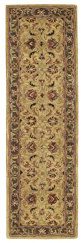 Nourison India House 211 Gold Rug