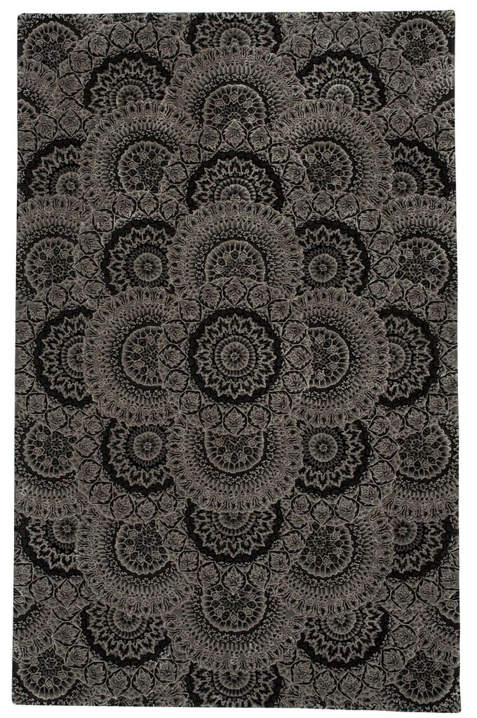 Nourison Nourison 2000 Black Grey Area Rug