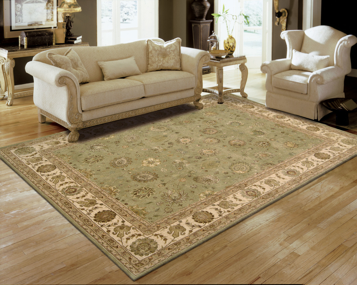 Nourison Nourison 3000 Light Green Area Rug