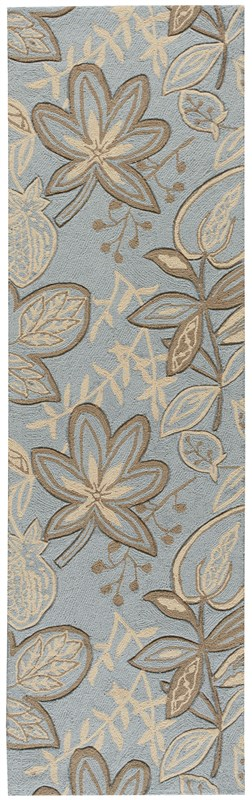 Nourison Fantasy 312 Light Blue Rug