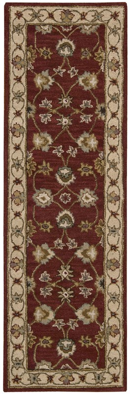 Nourison India House 414 Red Rug