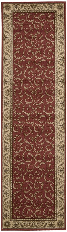 Nourison Somerset 476 Red Rug