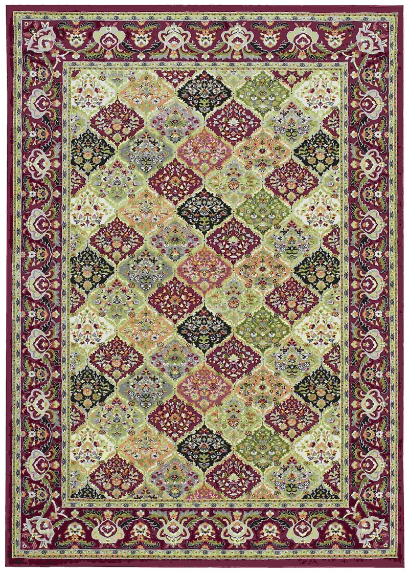 Kathy Ireland Antiquities Washington Square Multicolor Area Rug By Nourison