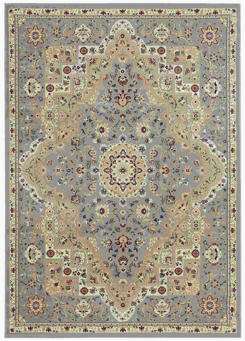 Kathy Ireland Antiquities Imperial Garden Slate Blue Area Rug By Nourison