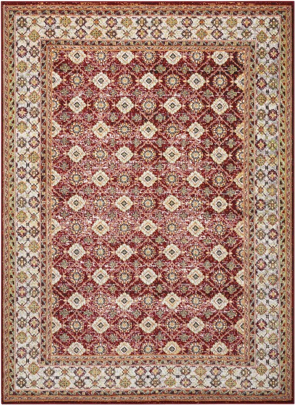 Nourison Aria Red Area Rug