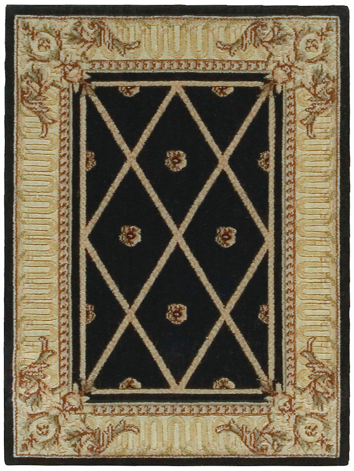 Nourison Ashton House Black Area Rug