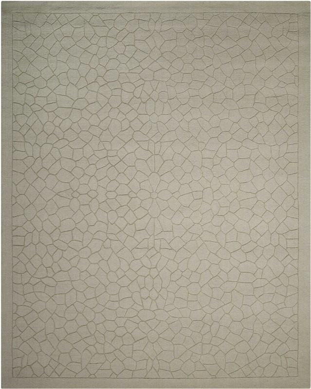 Nourison Barcelona Light Green Area Rug