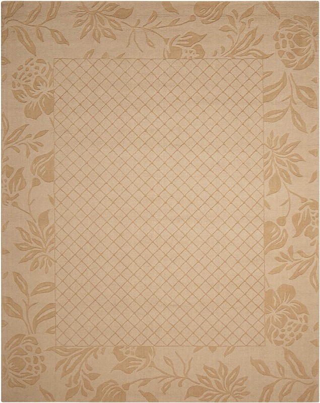 Nourison Barcelona Light Gold Area Rug