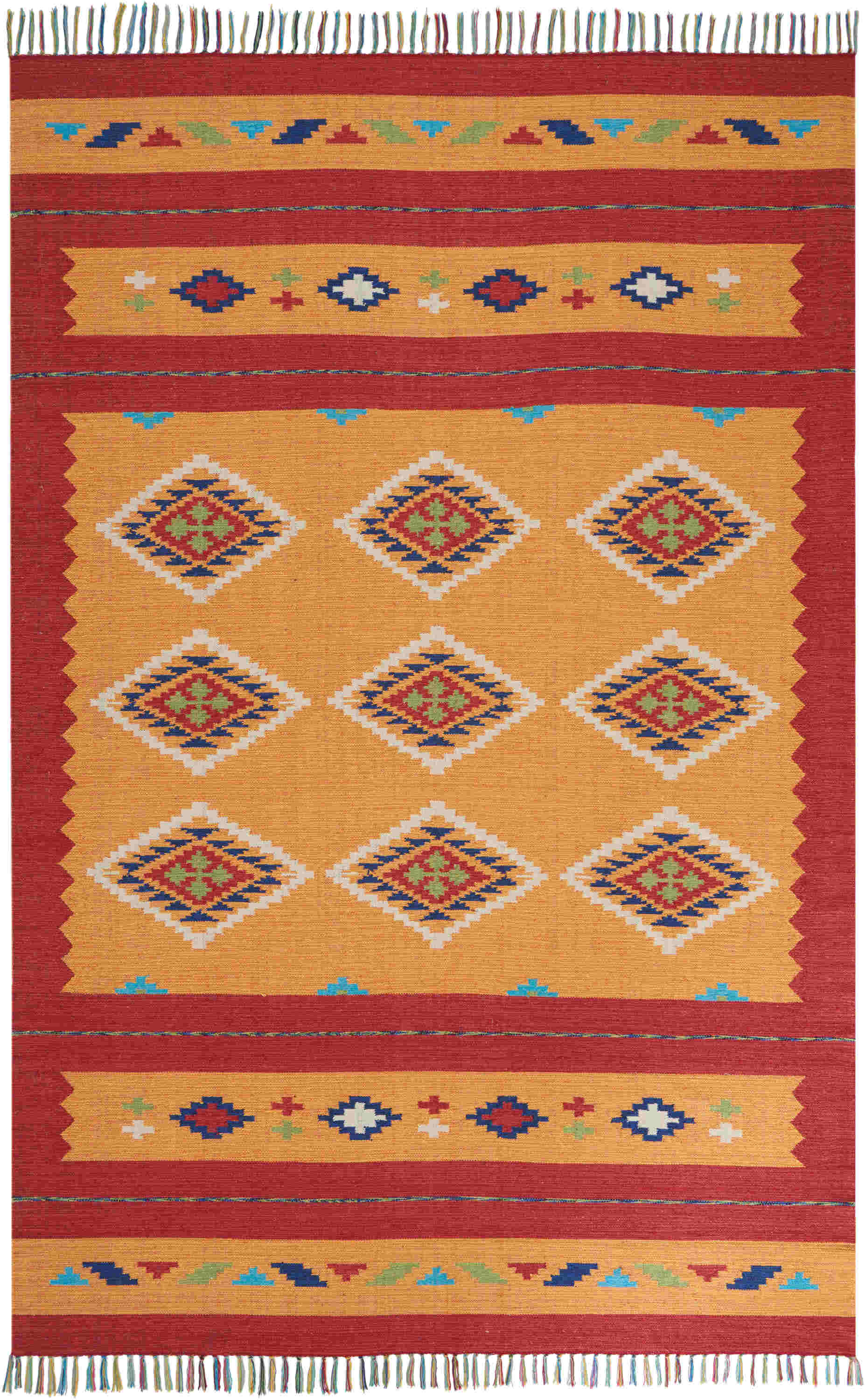 Nourison Baja Transitional Yellow Rug Baj02
