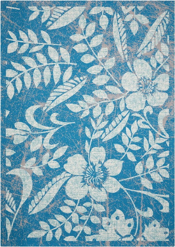 Nourison Coastal Blue Indoor/outdoor Area Rug