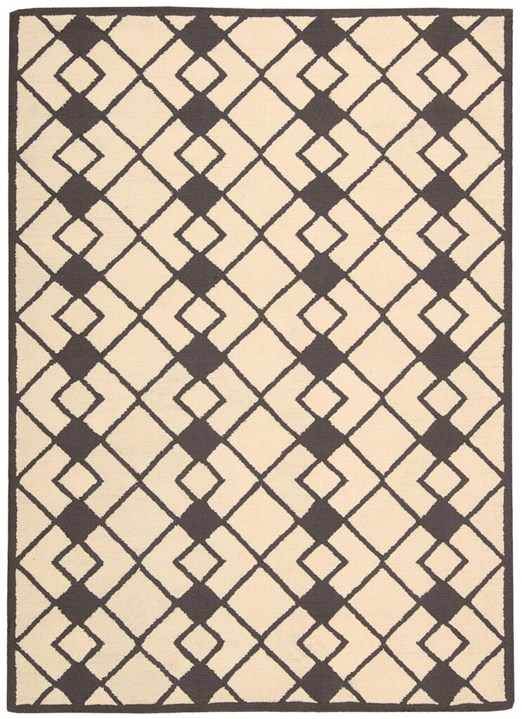Nourison Decor Ivory Grey Area Rug