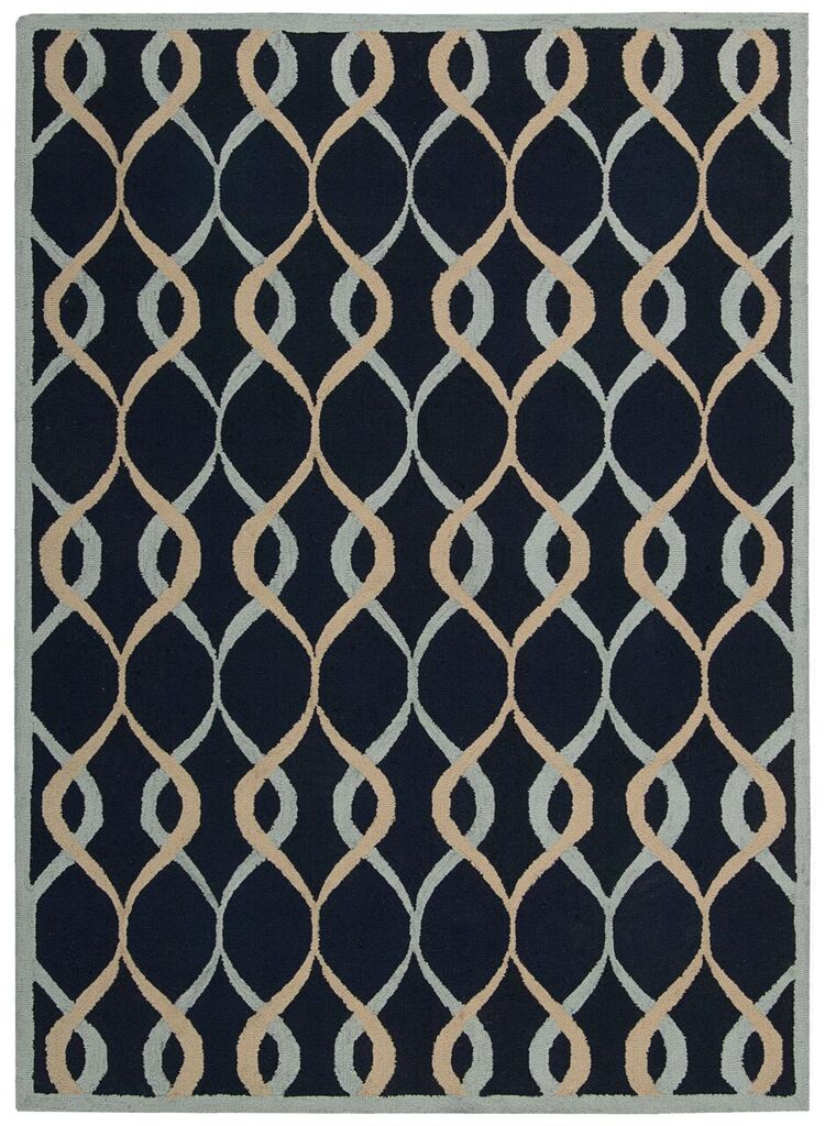 Nourison Decor Navy Area Rug