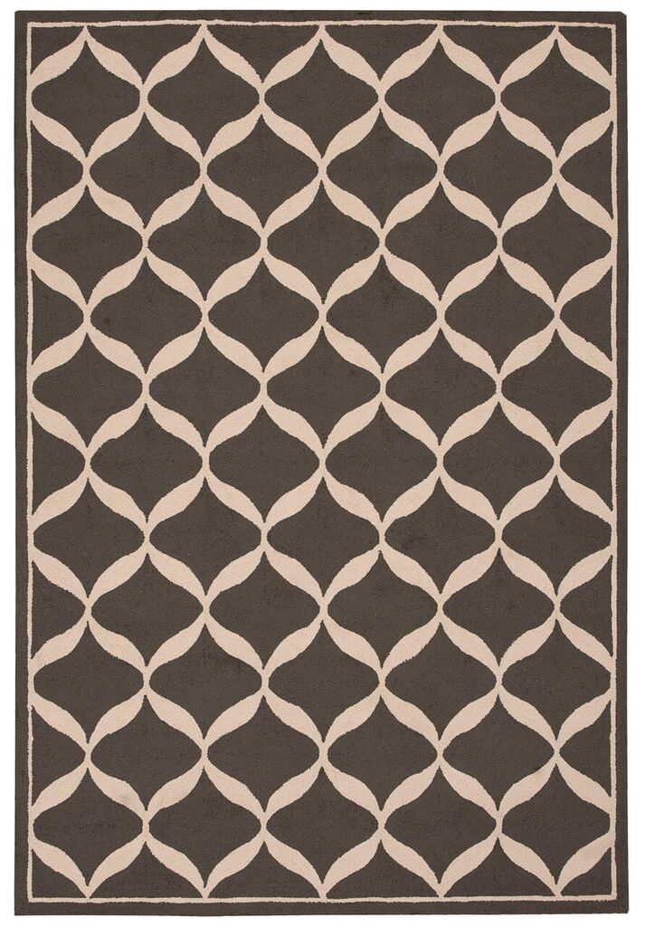 Nourison Decor Grey White Area Rug