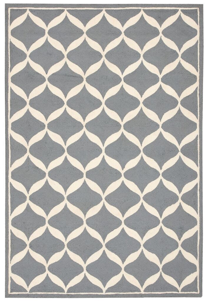 Nourison Decor Slate White Area Rug