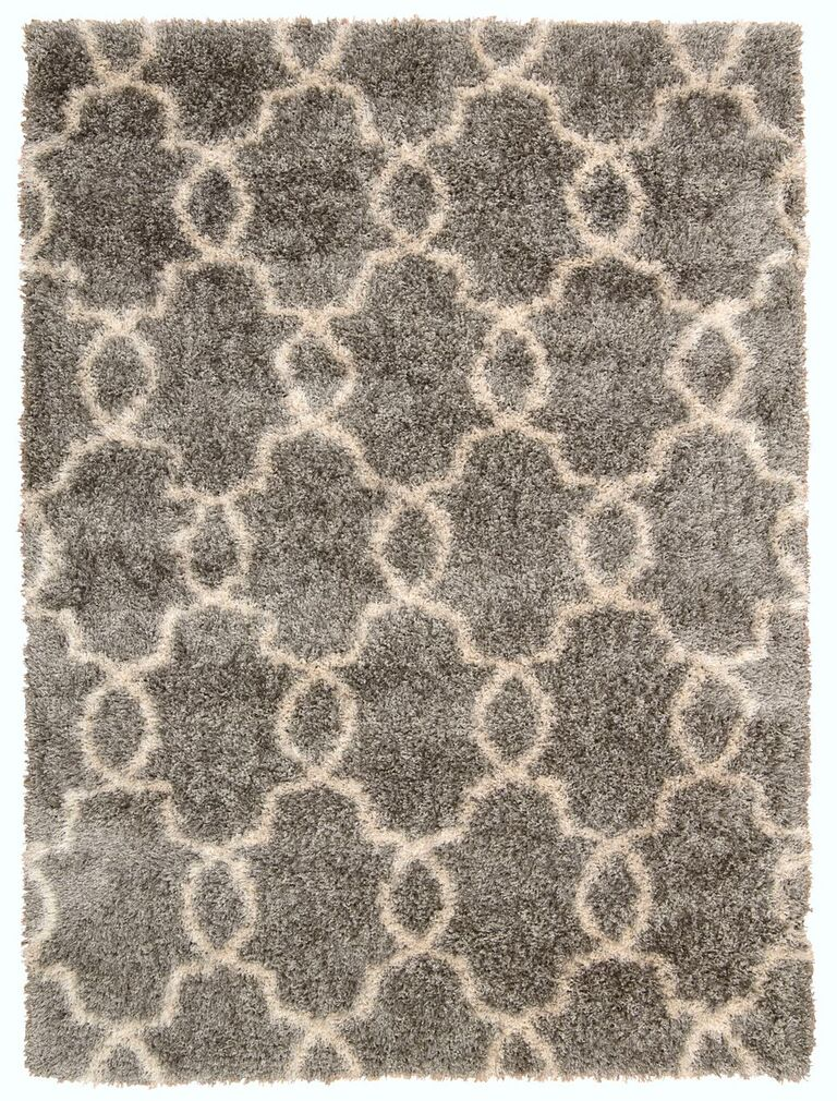 Nourison Escape Silver Area Rug