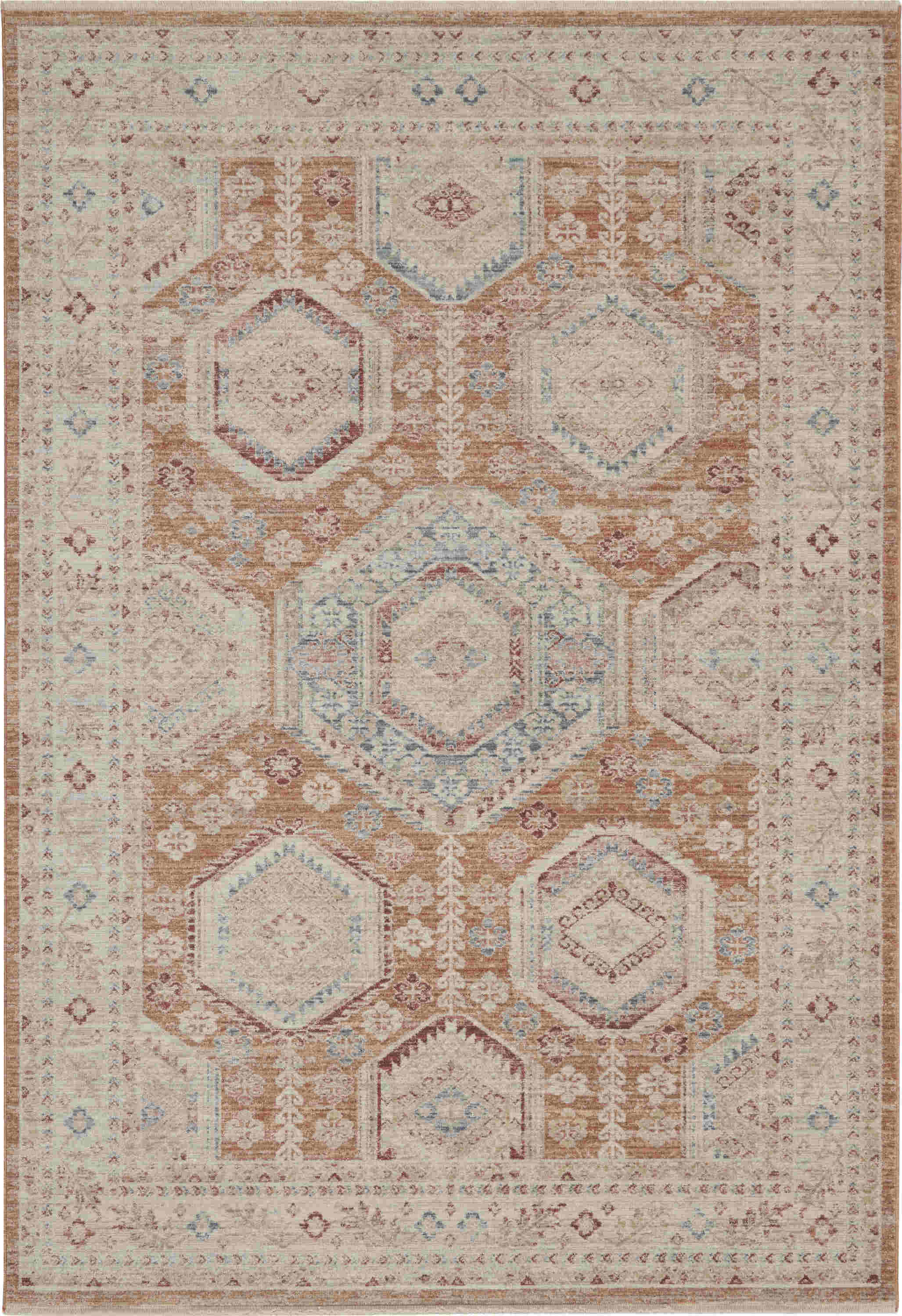 Nourison Enchanting Home Traditional Brick Rug Enh01