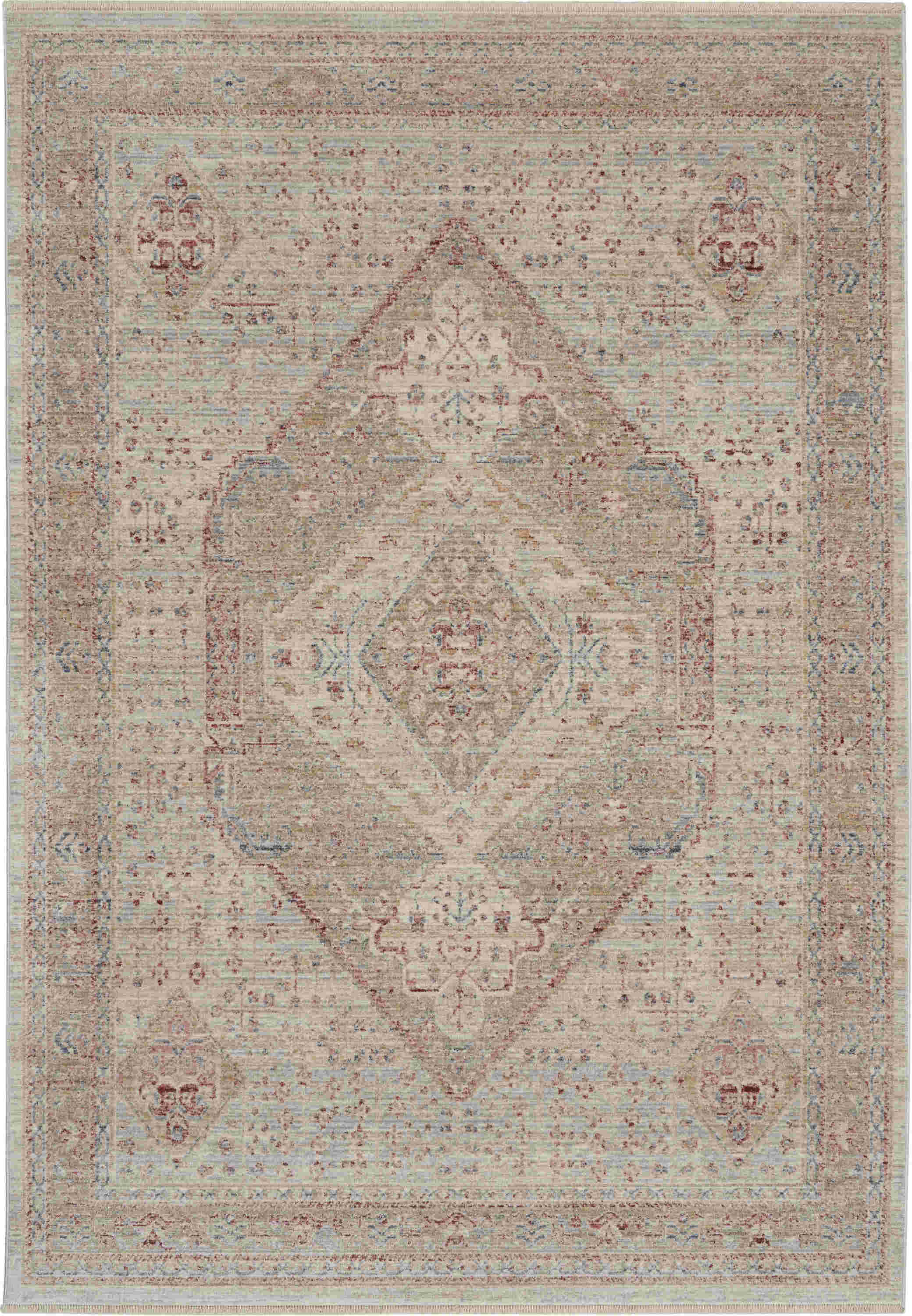 Nourison Enchanting Home Traditional Beige Rug Enh03