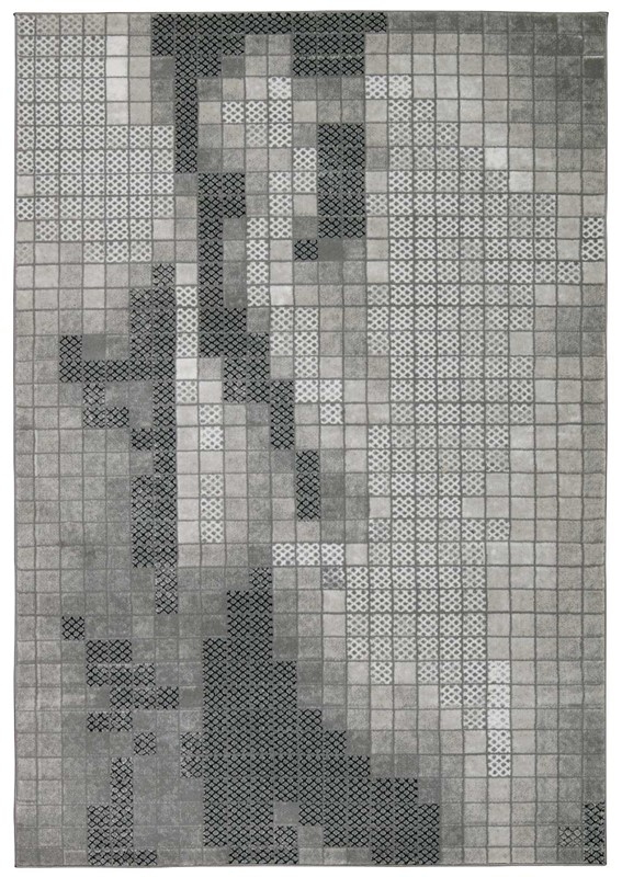 Michael Amini Gotham Grey Area Rug By Nourison
