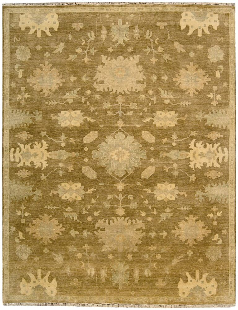 Nourison Grand Estate Tobacco Area Rug