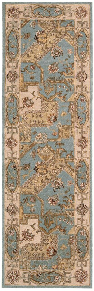 Nourison Heritage Hall Blue Area Rug