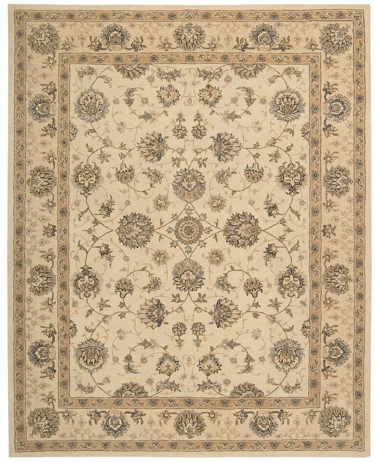 Nourison Heritage Hall Cream Area Rug