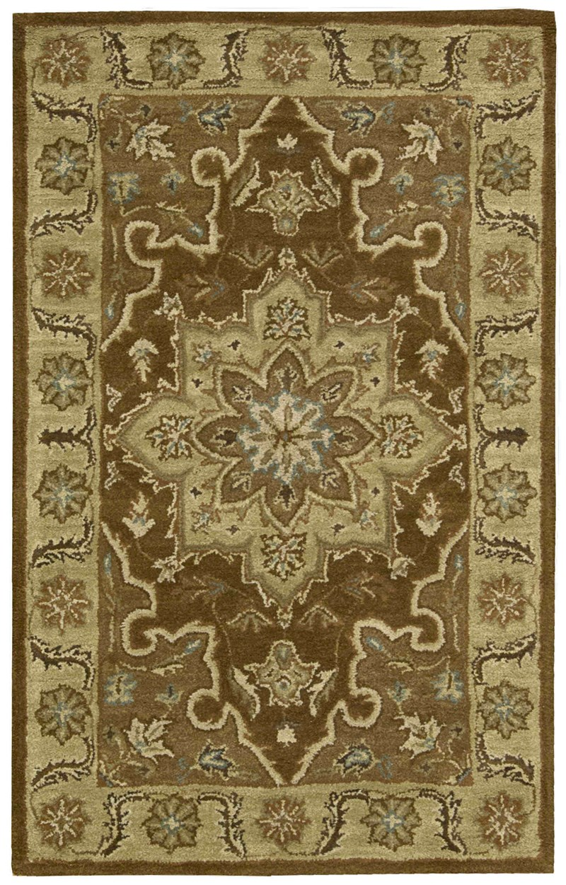 Nourison India House Chocolate Area Rug