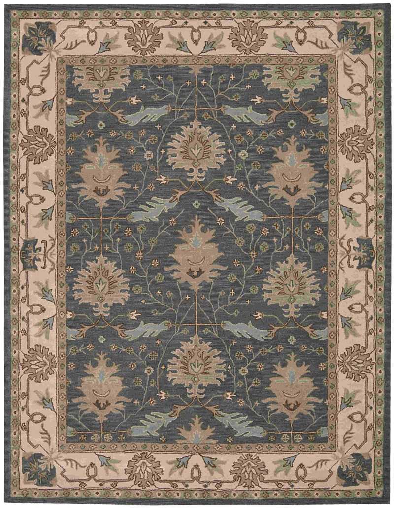 Nourison India House Brick Area Rug