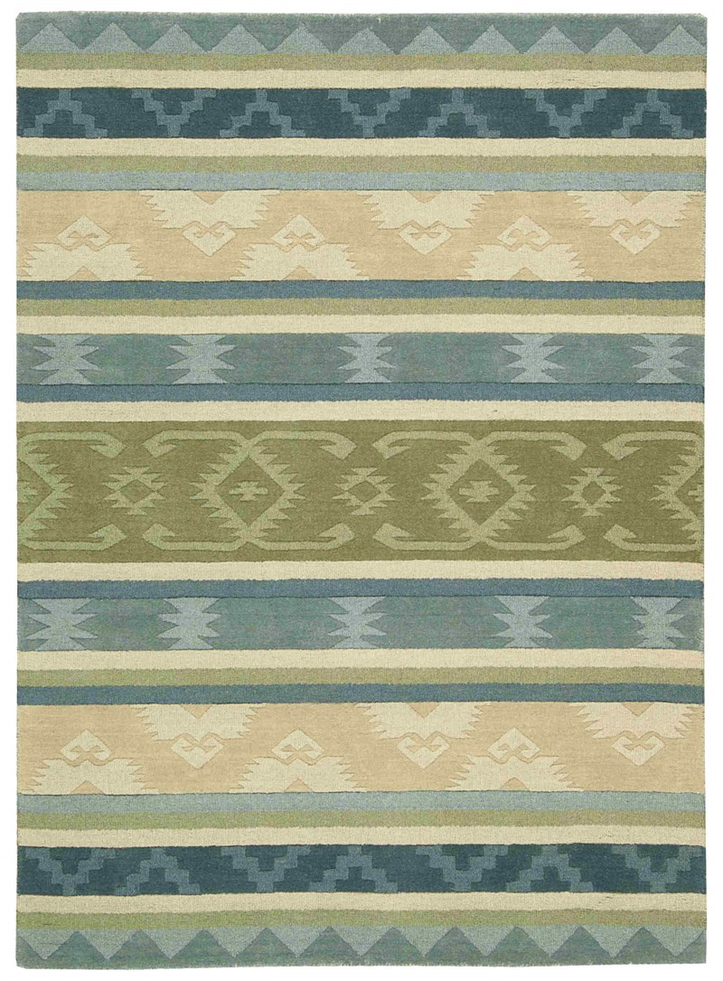 Nourison India House Blue Green Area Rug