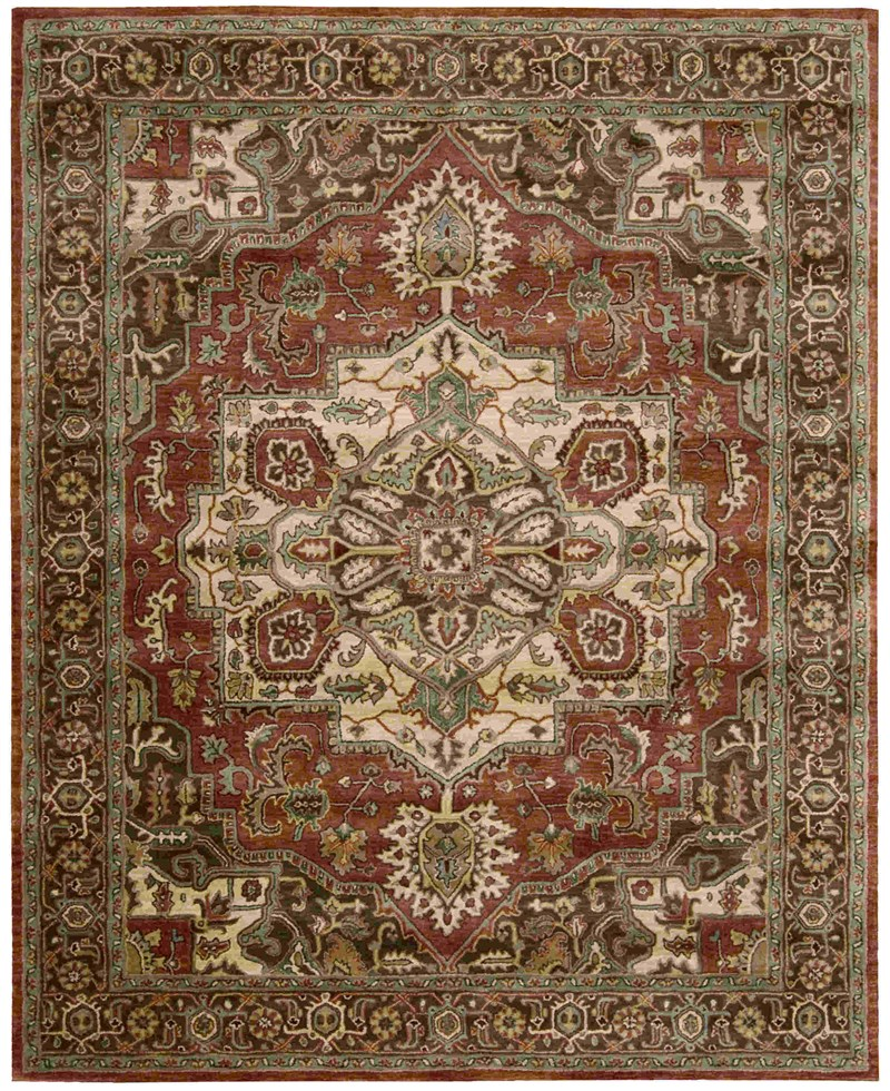Nourison Jaipur Red Area Rug