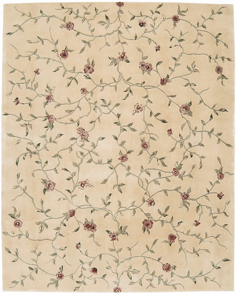 Nourison Julian Light Gold Area Rug