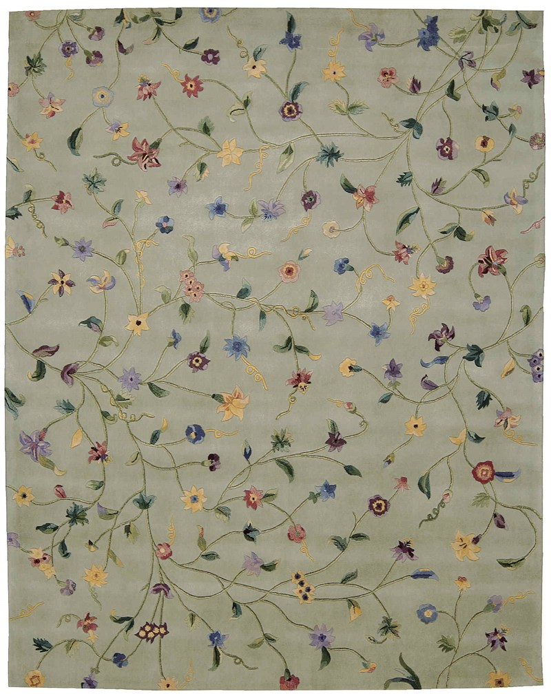 Nourison Julian Light Green Area Rug