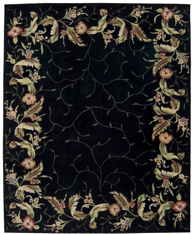 Nourison Julian Black Area Rug
