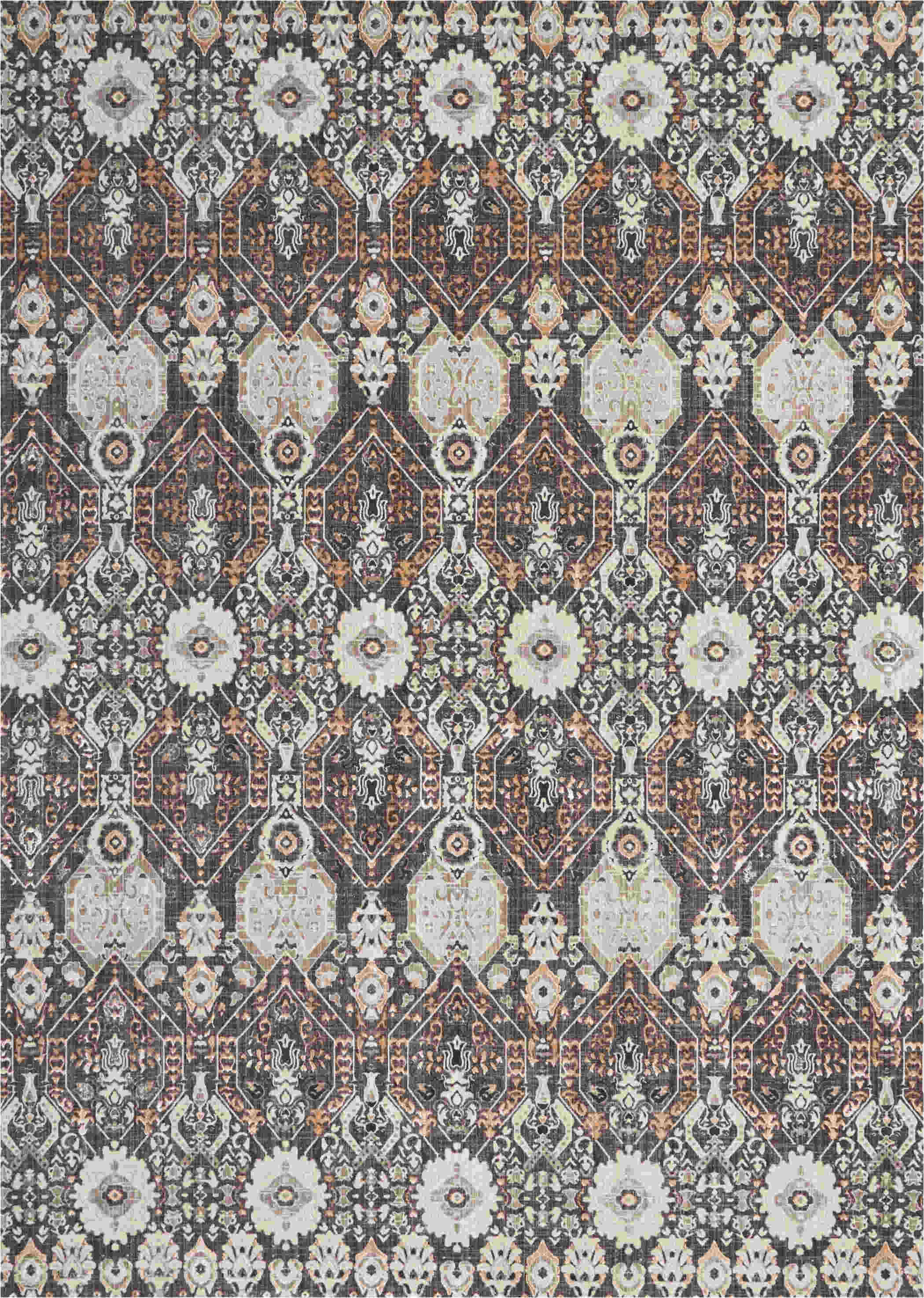 Nourison Ki34 Silver Screen Modern/contemporary Rugs  Ki341