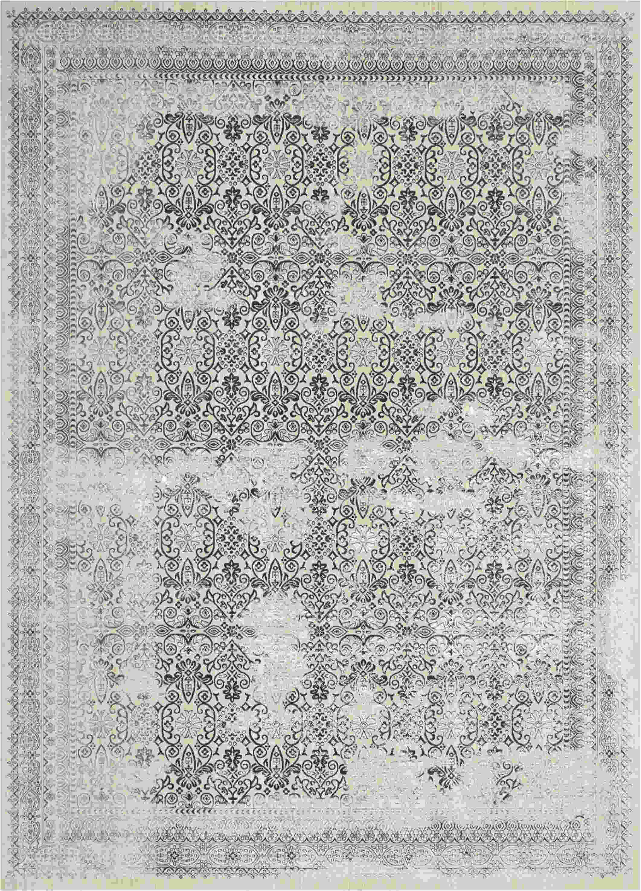 Nourison Ki34 Silver Screen Modern/contemporary Rugs  Ki342